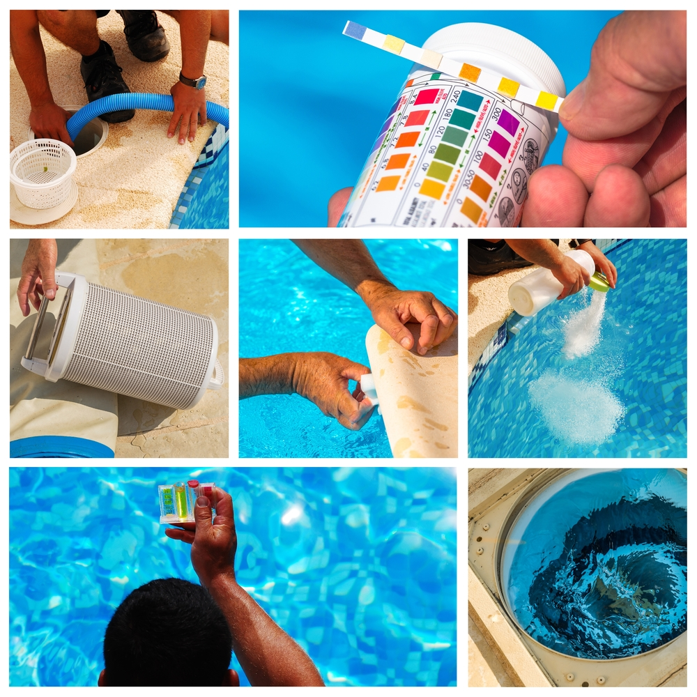 kit pool cleaning