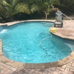 Pool service cleaning