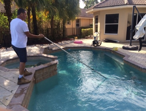 Pool service in Weston, Sunrise, Fort Lauderdale, Hollywood, Miramar and more!