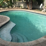 pool service in weston after
