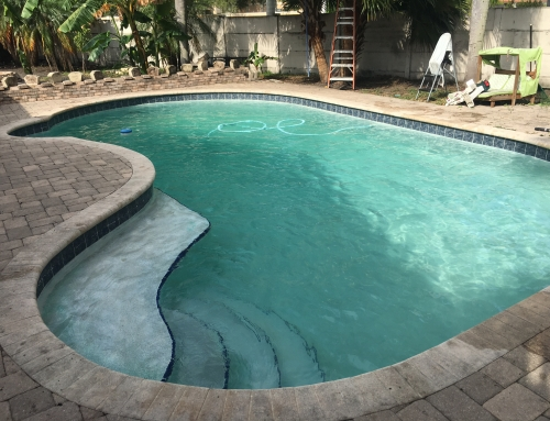 Pool service in Weston